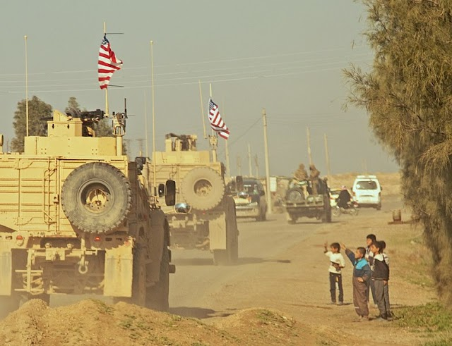 "SYRIA: US turns back on Kurdish ""allies"" in dramatic u-turn"