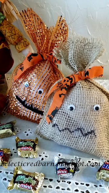 Eclectic Red Barn: Halloween Treat Bags