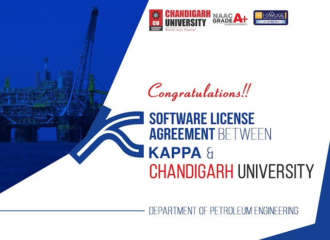 Chandigarh University signs Software License Agreement with KAPPA
