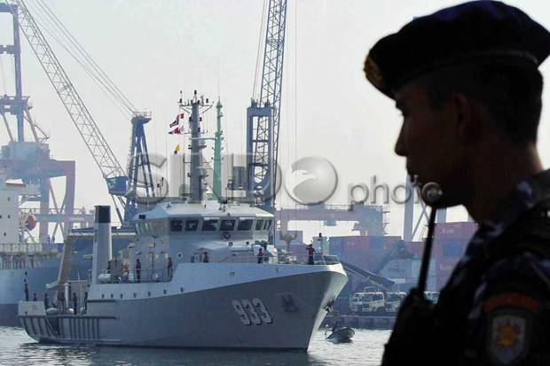 TNI AL Kembali Tangkap Kapal Berbendera Malaysia