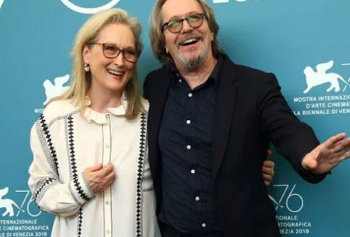 """Meryl Streep starred in Steven Soderbergh's movie """"Laundromat"""" in Venice"""