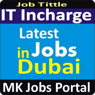 IT Manager Jobs In UAE Dubai With Mk Jobs Portal