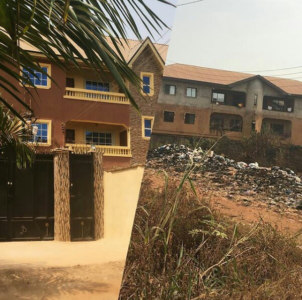 Photos: Years after she was driven out by her former son-in-law during omugwo, Nigerian woman builds her own house