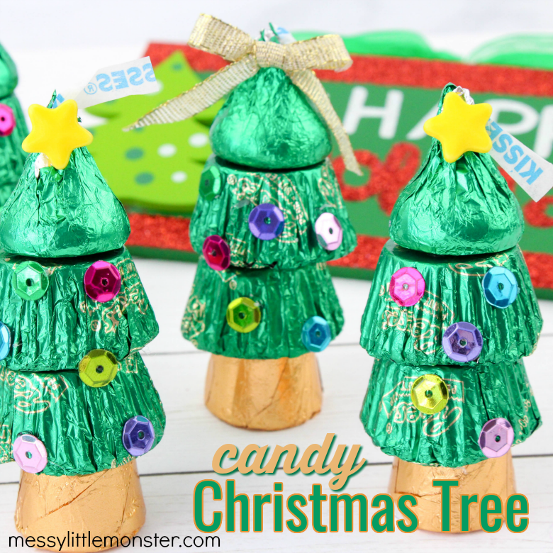 Candy christmas tree