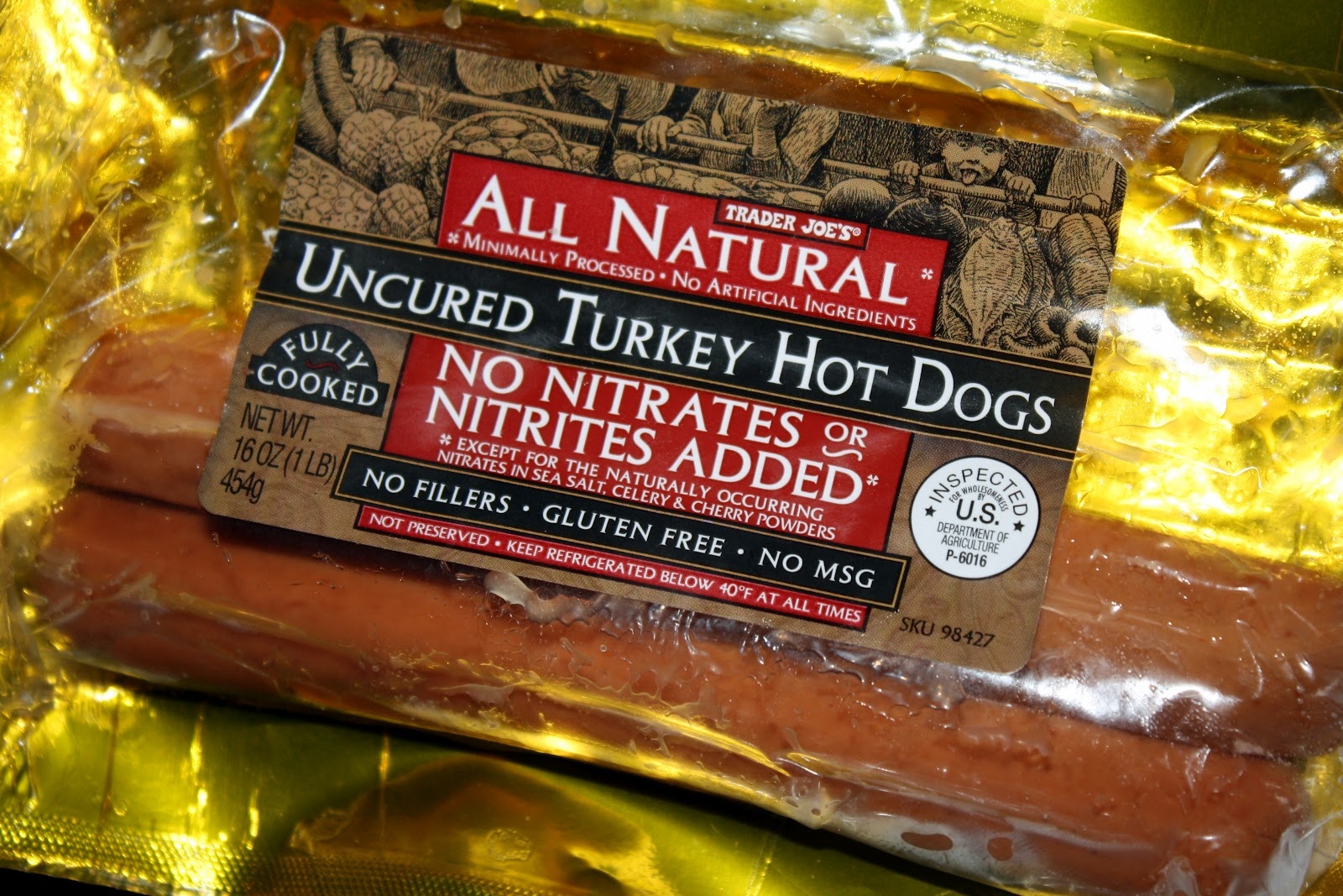 Trader Joe's Uncured All Beef Hot Dogs: Calories ... |Trader Joes Hot Dogs