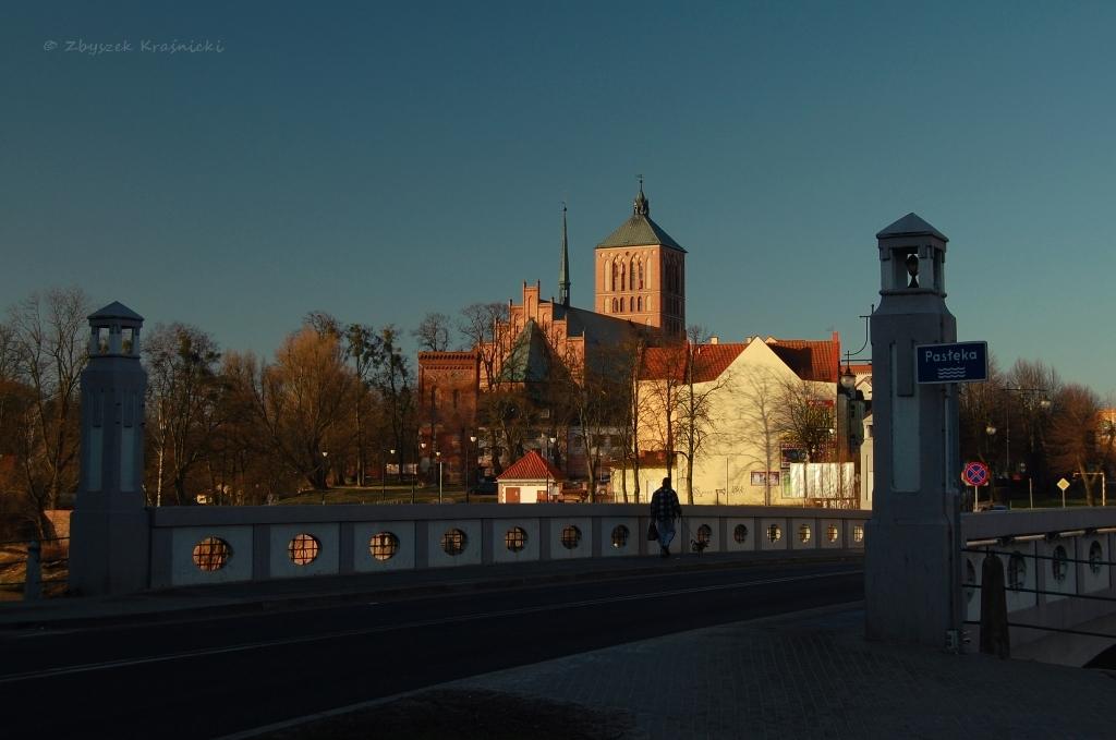 Najstarszy obiekt na Warmii   Wieża bramna w Braniewie
