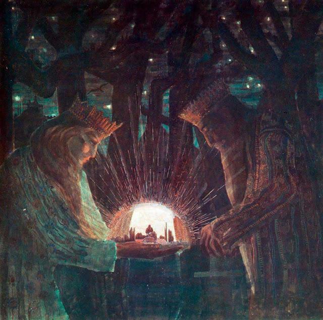 Чюрлёнис Микалоюс Константинас - Короли (Сказочные Короли). 1909