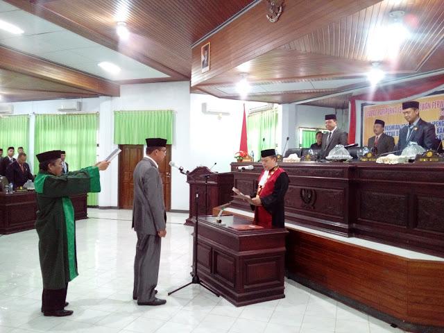 DPRD Selayar Gelar Rapat Paripurna, Istimewa, PAW Dan Pelantikan, Ketua Baru
