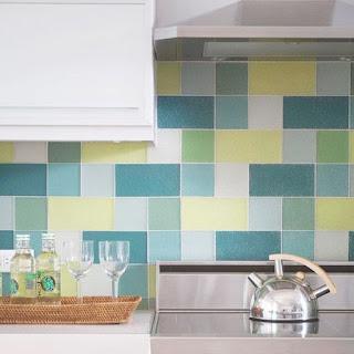 Сочетания цветов плитки для кухни