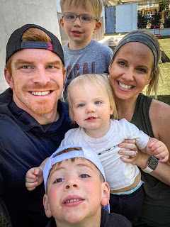 Andy Dalton And His Wife Jordan Along With Their Children
