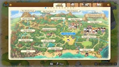 Cara save dan keluar dari game Doraemon Story of Seasons