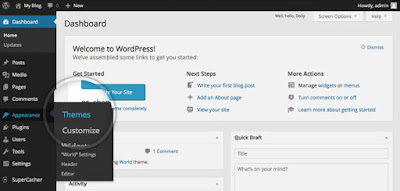 Change WordPress Theme