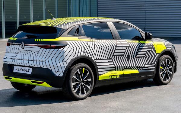 Renault Mégane 2022 e-Tech 100% elétrico tem fotos e detalhes divulgados