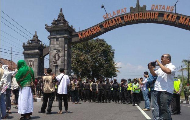 Ormas Anti Pancasila Hendak Kepung Candi Borobudir