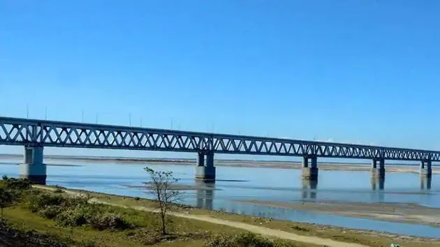 India inaugurated the crucial Bogibeel bridge on the Brahmaputra in 2018 to improve connectivity
