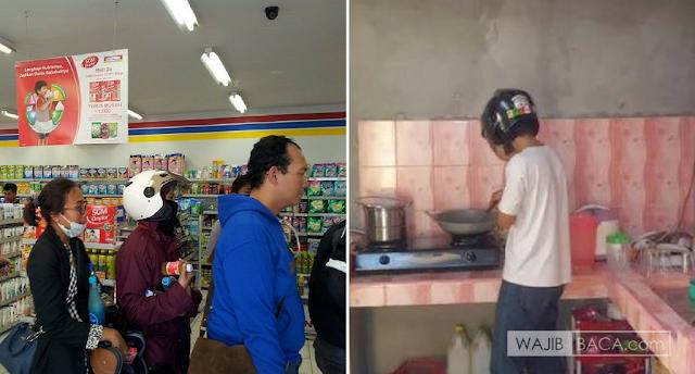 Kemana-mana Pakai Helm, Lama-Lama Bisa Jadi Ciri Orang Indonesia. Nih Buktinya!