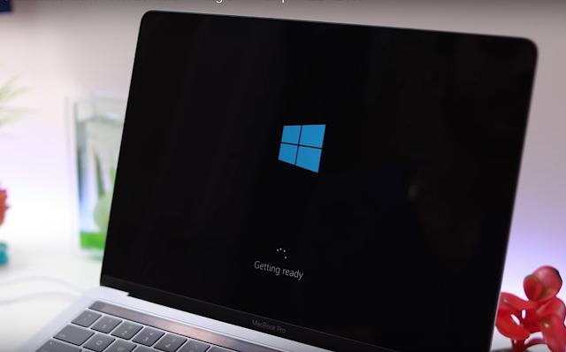 Cara Untuk Beralih Double OS Dengan Tombol Option di Mac