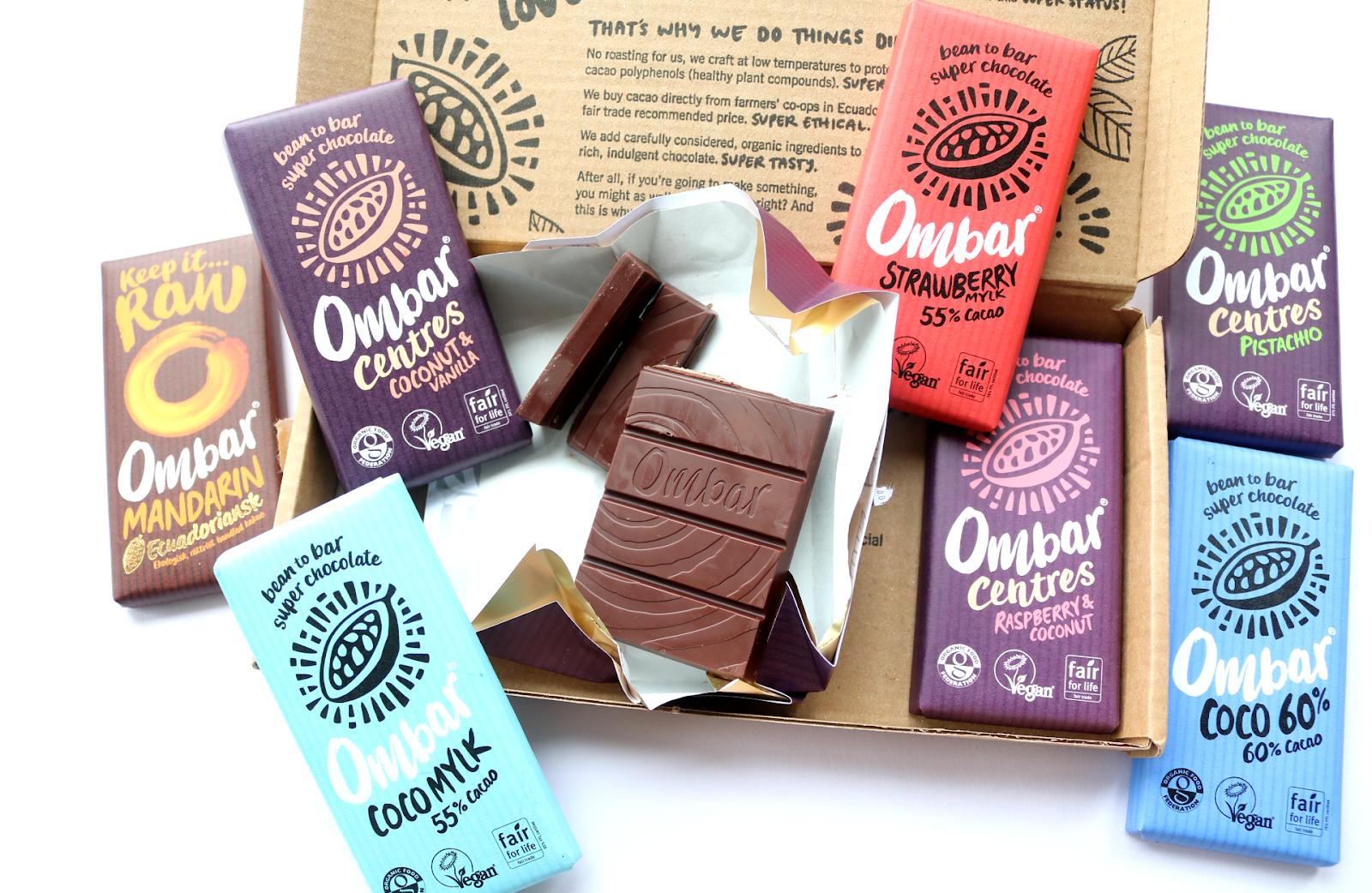 Ombar Organic Raw Chocolate - Super Choc Bundle review