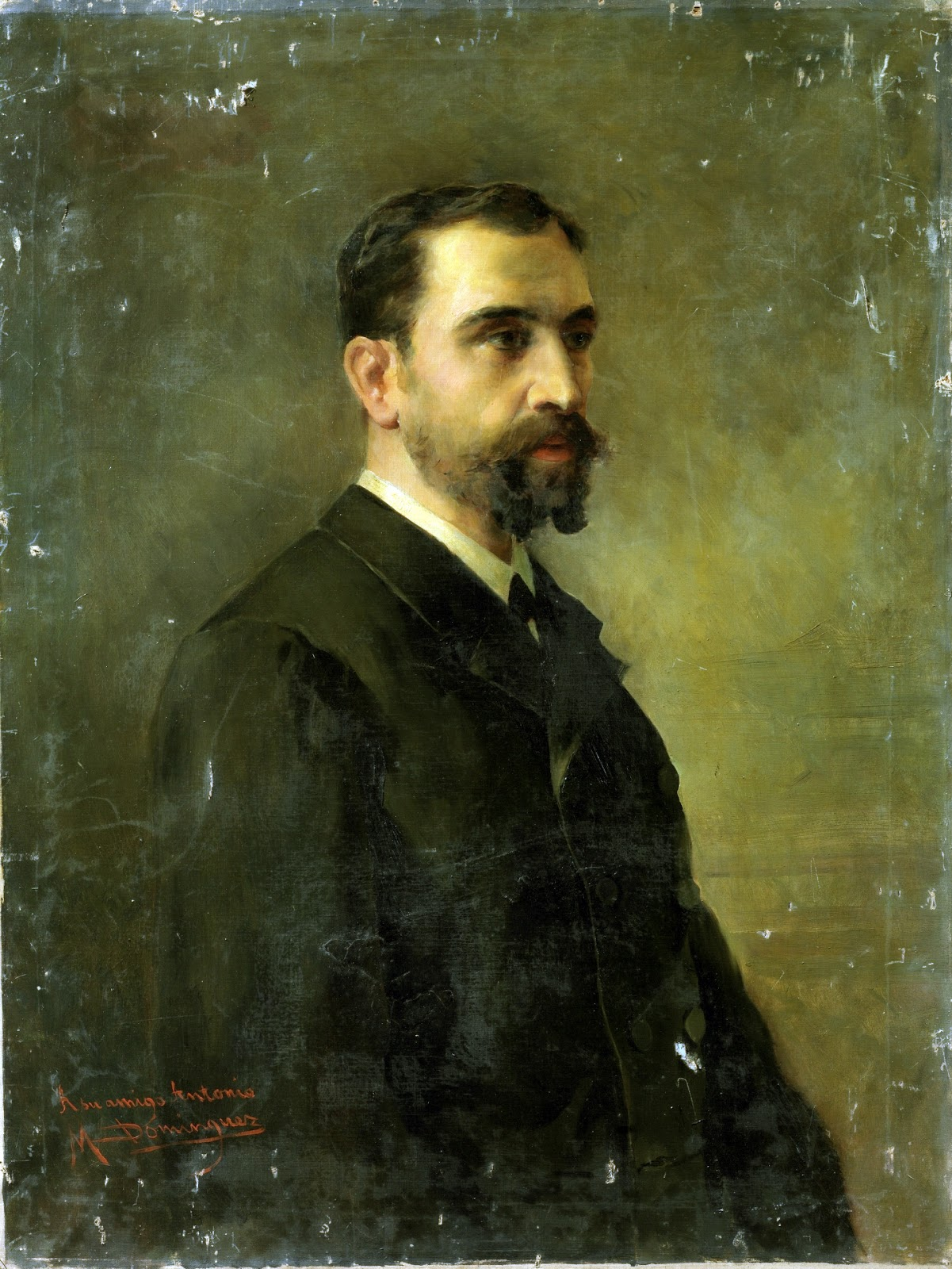 Maestros espa oles del retrato manuel dom nguez y s nchez for Alfonso dominguez madrid