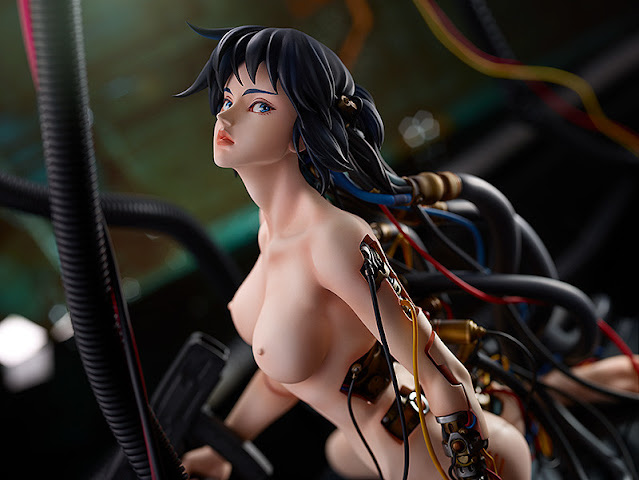 Ghost in the Shell - Motoko Kusanagi 1/4, With Fans!