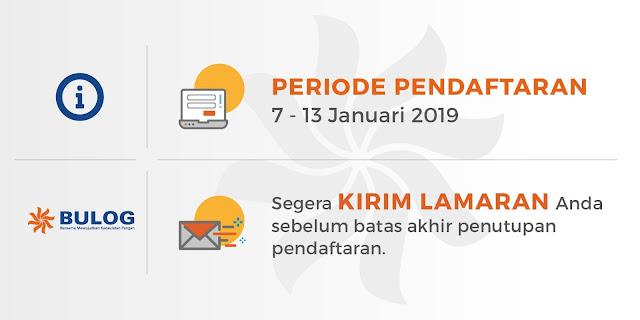 Rekrutmen Karyawan Baru Perum BULOG tahun  TERLENGKAP LOWONGAN KERJA REKRUTMEN KARYAWAN BARU PERUM BULOG UNTUK LULUSAN SMK, D3 DAN S1 (PENDAFTARAN 7 – 13 JANUARI 2019)
