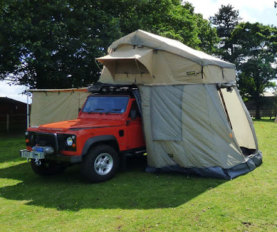 RoofTent External - #LandRover