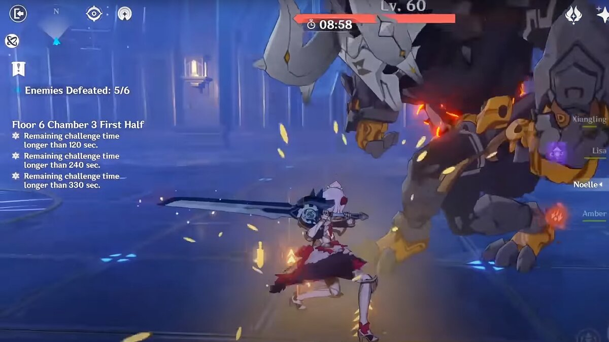 Level 6 (Floor) of the Twisted Abyss in Genshin Impact
