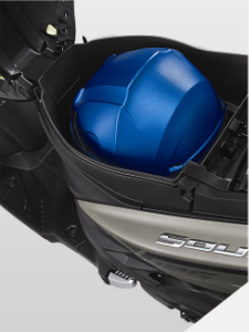 Jet Helmet-Fit Luggage Yamaha All New GT 125 Blue Core