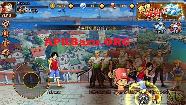 One Piece Navigation King Battle v1.7.0 Apk Terbaru