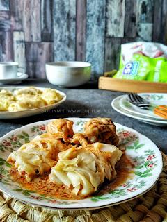 Roti Jala Kari Ayam Khas Melayu Riau So Good Ayam Potong