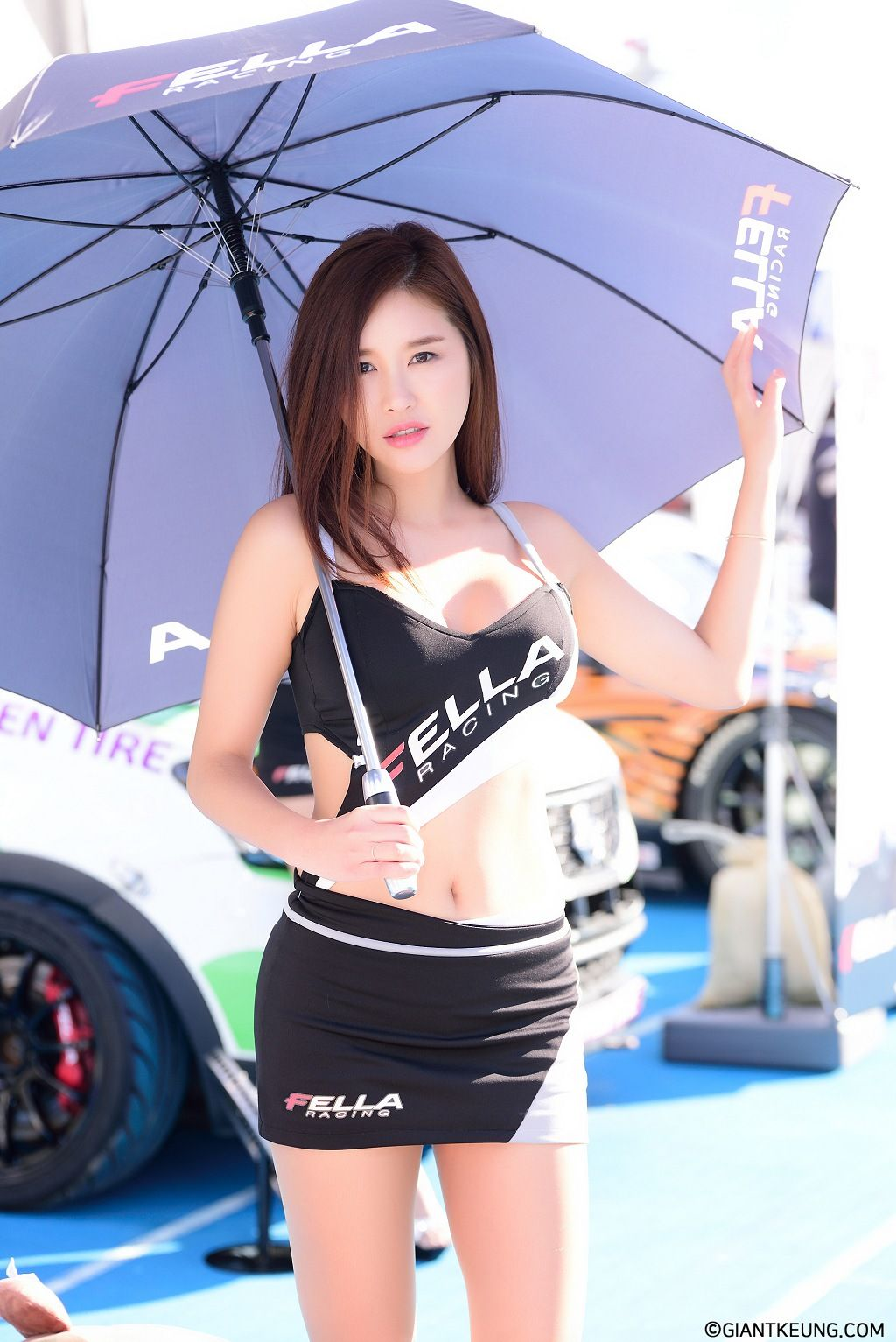 Image-Korean-Racing-Model-Cheon-Se-Ra-At-Incheon-Korea-Tuning-Festival-TruePic.net- Picture-10