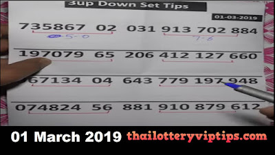 Thai lottery 3up sure number formula papers tips 01 March 2019