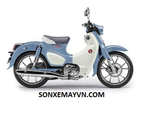 Bán Sơn xe máy HONDA SUPER CUP C125