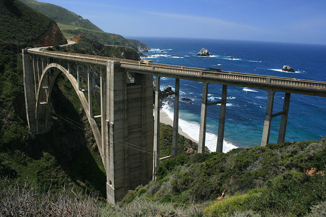 Bixby Creek Bridge, Highway 1, Califórnia