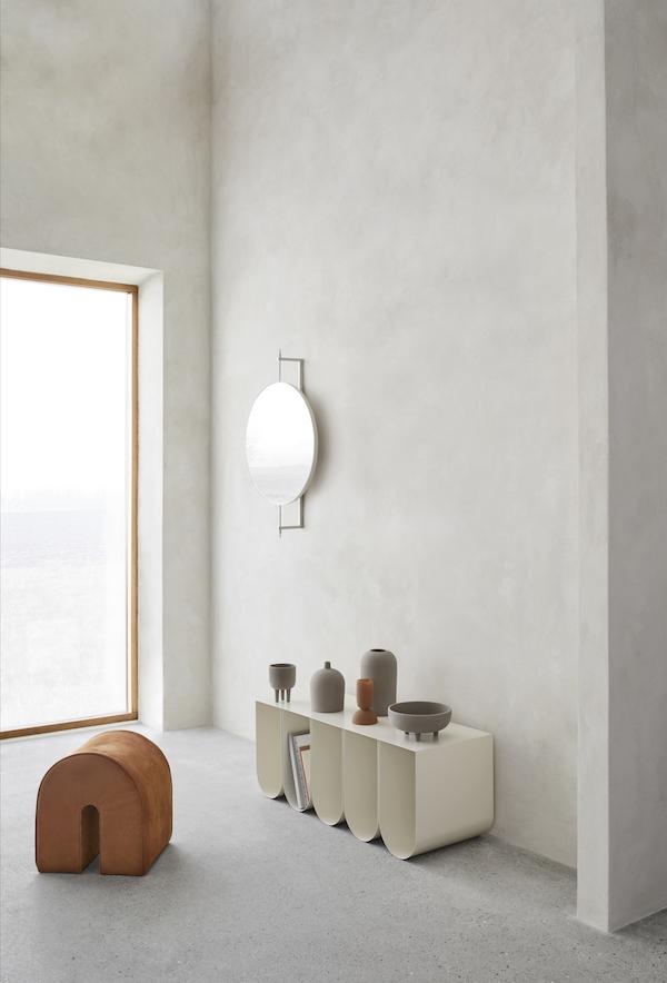 Sculptural minimalism | new design by Kristina Dam as seen at imm