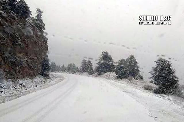 Που μπορείτε να δείτε χιόνια στην Αργολίδα