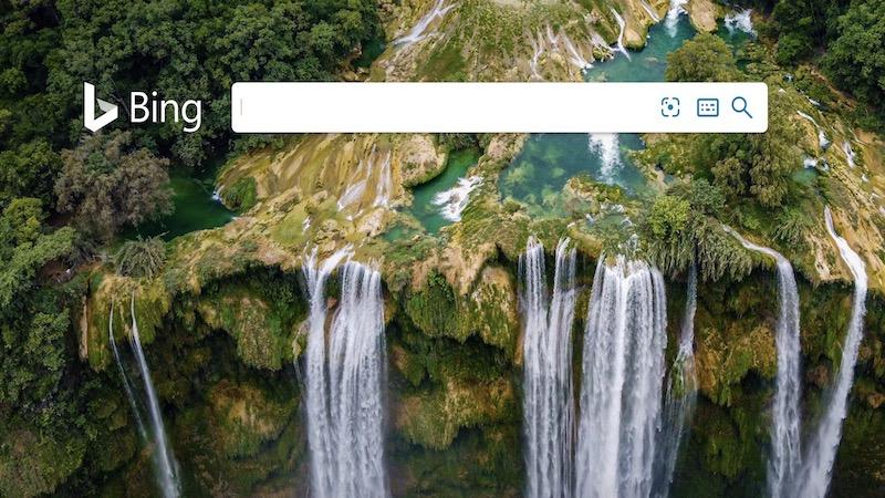Bing, algoritma Bing, mesin pencari