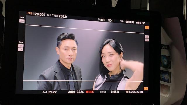 梁舒涵與謝祖武合作洗髮精廣告