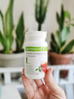 -Herbalife Bitkisel Konsantre Çay