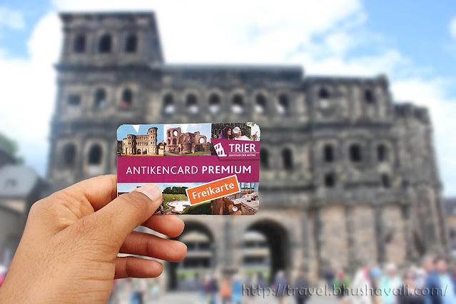 Trier Antiken Card Premium