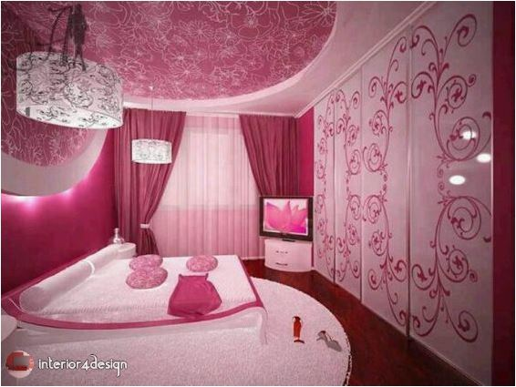 pink bedrooms for teen girls 7
