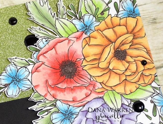 Dana Warren - Kraft Paper Stamps - Graciellie Designs - Mother's Day Cards Cardmaking
