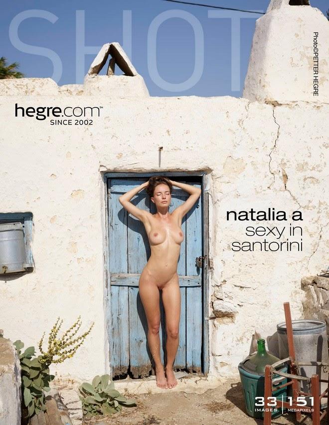 [Art] Natalia A - Sexy In Santorini - Girlsdelta