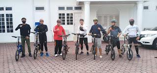 Nasrul Abit Ajak Masyarakat Hidup Sehat Dengan Berolahraga Sepeda