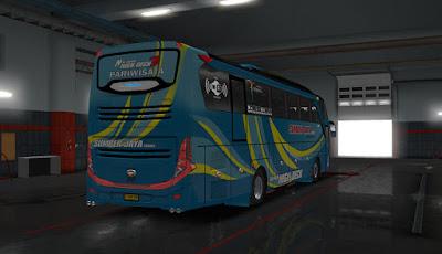 JETBUS 3+ Angga Saputro Cvt FPS Update subur jaya ets2