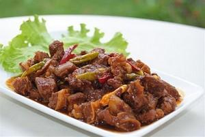 Cara Membuat Krengsengan Daging Kambing - Resep Masakan Indonesia