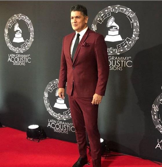 Eddy Herrera fue uno de los artistas invitados a los Latin Grammy Acoustic Sessions en México