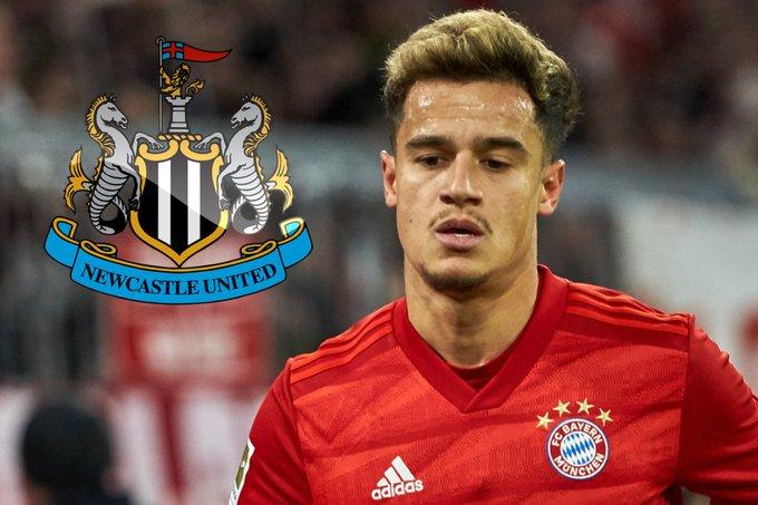 Rumeurs de transfert: prise de contrôle de Newcastle, Coutinho, Shaqiri, Willian, Palhinha