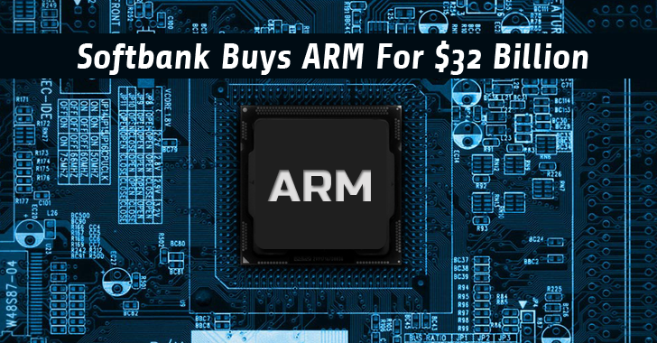 Japan's Softbank buys semiconductor giant ARM for $32 Billion in Cash
