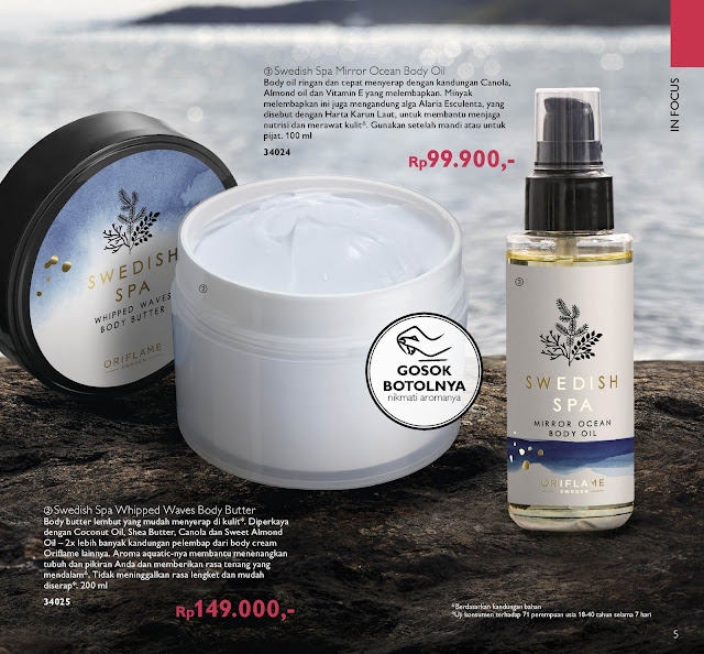 Swedish spa oriflame puspa styleeid